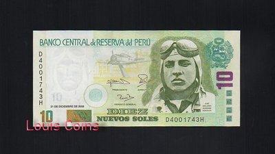 【Louis Coins】B126-PERU--2006祕魯紙幣10 Nuevos Soles