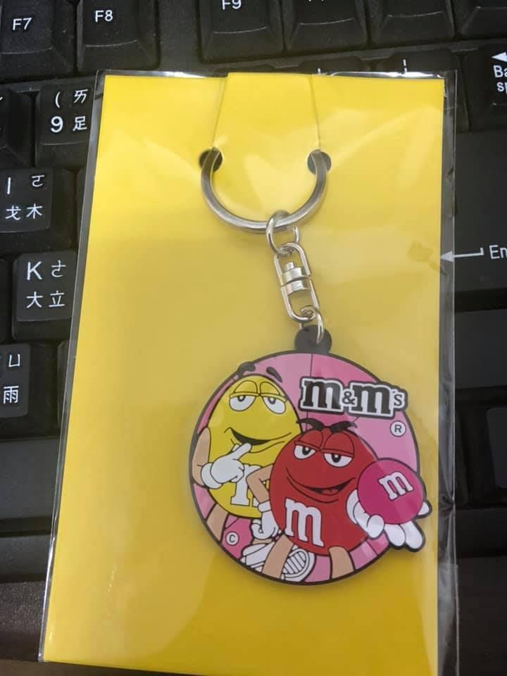 【荳荳小舖】M&Ms mm巧克力 造型鑰匙圈 《全新》值得收藏~含運150元