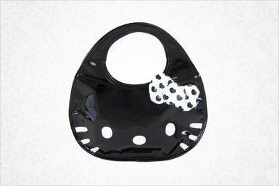 *凱西小舖*海外限定版三麗歐正版KITTY凱蒂貓亮皮大頭造型手提包(小)