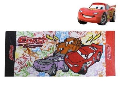 出口歐洲CARS閃電麥坤與好友彩色筆風格款毛巾 兒童   …