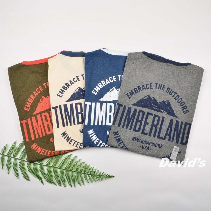 Timberland 短袖 T恤 上衣 衣服 多色 男 踢不爛 美國空運 現貨 全新【A22NM】美國大衛