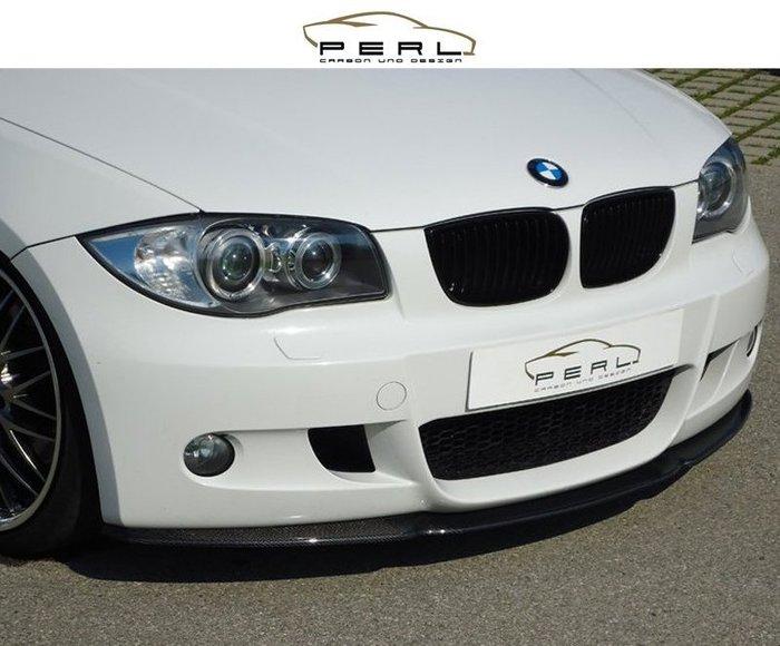 【樂駒】Perl Carbon Design BMW E81 E87 碳纖維 M package LCI 前擾流