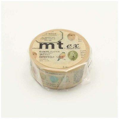 《散步生活雜貨-和紙膠帶》 日本製 mt ex系列 鳥卵 紙膠帶 21mm 單捲-MTEX1P122