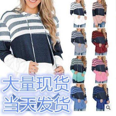 妮妮韓國服飾店~Autumn coat loose hoodies set of bump color fleece long