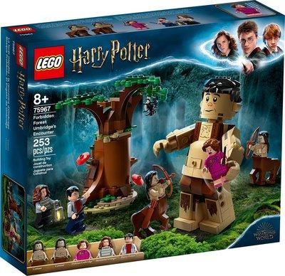 樂高 LEGO 75967 哈利波特 Forbidden Forest: Umbridge's Encoun