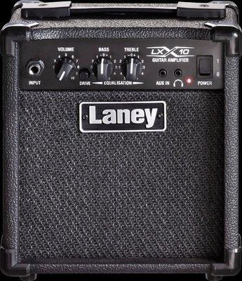 造韻樂器音響- JU-MUSIC - Laney LX10 吉他音箱 10瓦音箱 MP3 AUX 輸入 公司貨免運