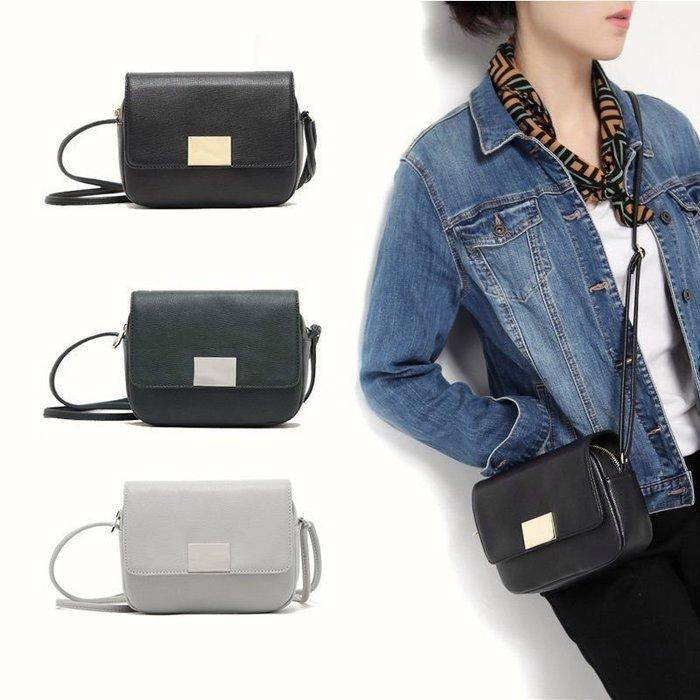 1220:) H&M 素色簡約亮片小方包