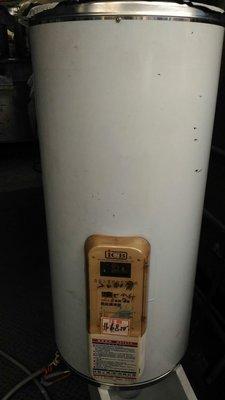 電能熱水器上市囉 南門餐廚設備拍賣亞昌二手 20加侖75公升 電能儲熱式熱水器