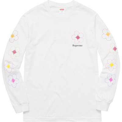 (TORRENT) 2017 Supreme Been Hit L/S  Tee 白 黑  M L XL