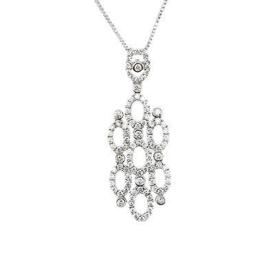 【JHT金宏總珠寶/GIA鑽石專賣】天然鑽石項鍊/材質:18K(JB46-A32)