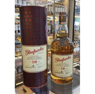 Glenfarclas 18 Years Old Single Malt 1L