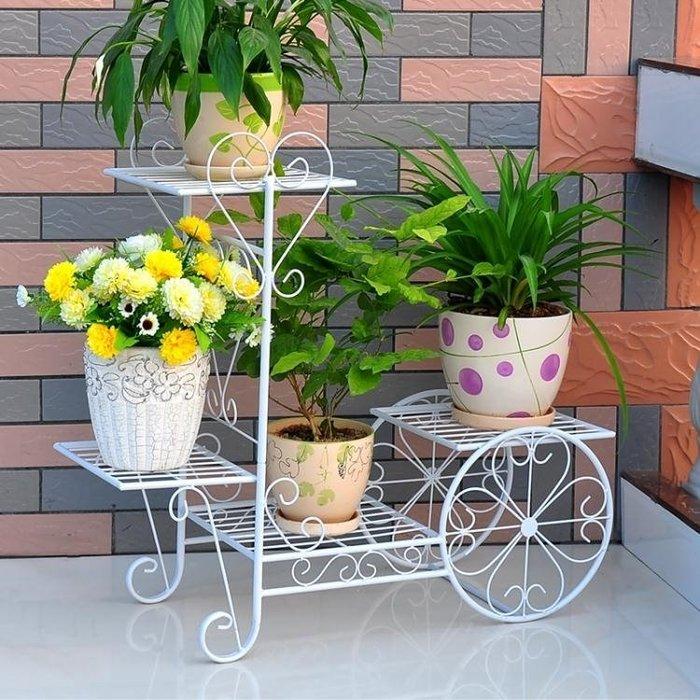 花架 鐵藝花架多層花盆架客廳陽台室內多功能花架子綠蘿多肉植物架