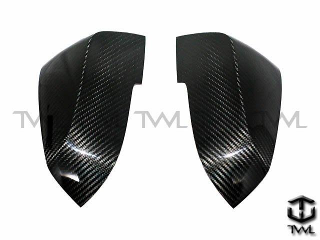 《※台灣之光※》BMW F30 F31 F34 F32 F33 F36 E84 X1 I3卡夢碳纖維後視鏡蓋後照鏡蓋貼片