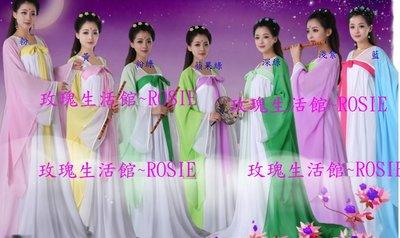 【玫瑰生活館】~ 2015唐朝裙范冰冰武媚娘服,武則天服~多色款3件套