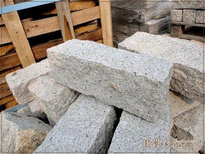 【園藝家景觀資材網】花崗石塊*粉花崗石塊30*10*10*營造造景 園藝庭園鋪設 佈置 緣路石 鋪地磚 花圃圍牆