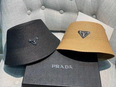✤寵愛Pamper for you✤PRADA 時尚漁夫草帽