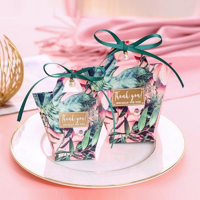 奇奇店-創意韓歐式糖果禮盒結婚禮森系喜糖盒子手提小清新禮品盒網紅同款#唯美 #立體浮雕 #歐式風格