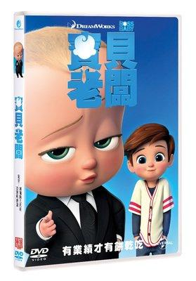 合友唱片 面交 自取 夢工廠系列 寶貝老闆 THE Boss Baby (DVD)
