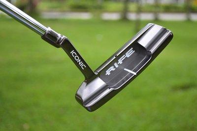 萌時尚新款球桿-美國RIFE ICONIC 高爾夫推桿 高爾夫球桿 平衡直條推桿