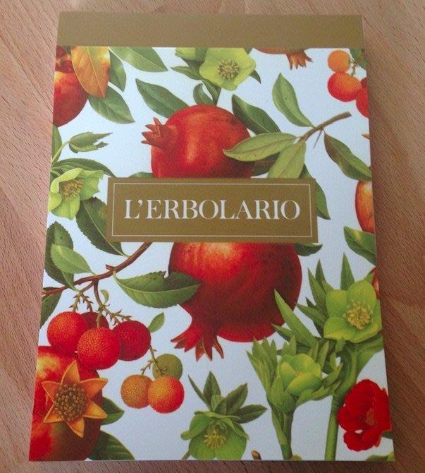 L'Erbolario蕾莉歐全新品牌筆記本 橫條