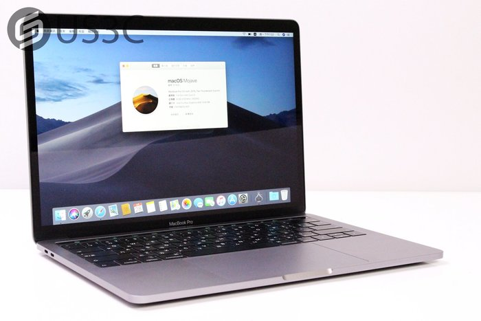 【US3C-台中店】2019年 Apple MacBook Pro 13吋 TB 太空灰 i5 1.4G 8G 128G