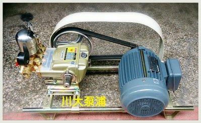 【川大泵浦】鑽石牌 TS-22 附泰瑋1HP單相 加裝保護蓋 噴霧機/洗車機/ 動力噴霧送水兼用機 TS22