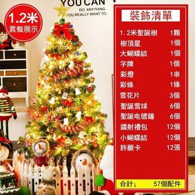 小倉ogula 台灣現貨  快速出貨 聖誕樹裝飾品1.2米聖誕樹擺件迷你聖誕樹聖誕節聖誕樹 可開發票 【免運】