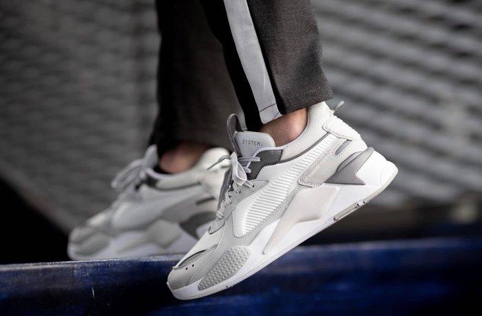 【Cheers】PUMA RS-X 老爹 復古 休閒 黑白 灰白 白灰 全白 熊貓 男鞋 黑 白 歐洲限定款