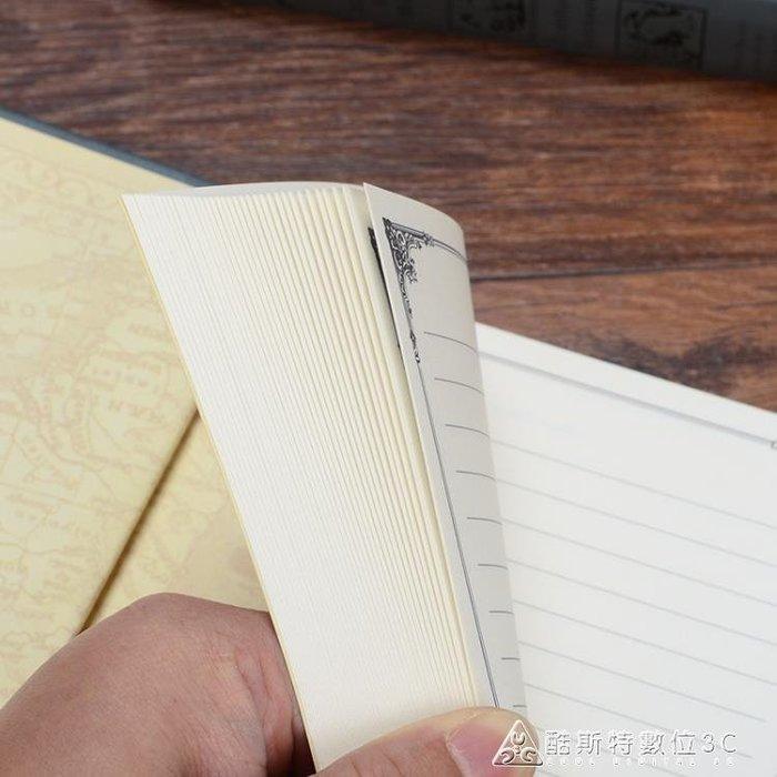 【暖暖居家】筆記本歐式超厚復古魔法書筆記本文具創意A5加厚記事本日記本子古典禮品-免運費
