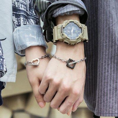 FEI日韓代購~情侶手鍊一對正韓學生男女情侶款小眾設計簡約520情人節禮物男生