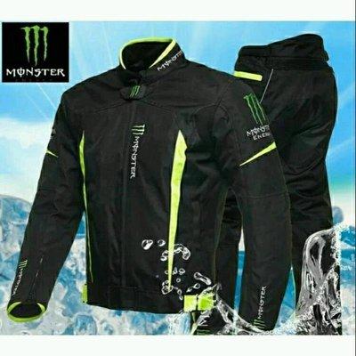 (現貨)Monster 鬼爪防新款摔防風防潑水,可保暖四新季款防摔衣(套裝價)CS01