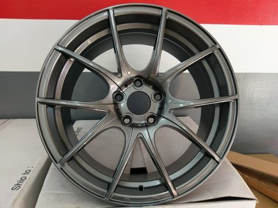 【AS輪胎】特價商品 全新 18 5*114.3 樹枝狀 鐵灰色 特價商品 數量有限 非 BBS BC 旋壓 鍛造