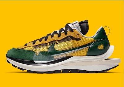 Nike sacai Vaporwaffle Tour Yellow Stadium CV1363-700。太陽選物社