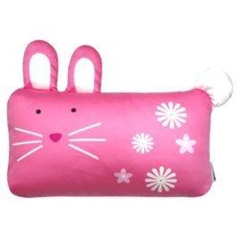 【魔法世界】Milo& & Gabby 動物好朋友-mini枕頭套(LOLA兔兔)+超柔軟mini防蟎天絲枕心