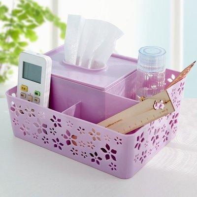 【創意家居 便利生活】多格化妝品桌面辦公桌口紅小收納盒塑料整理盒護膚品置物架收納架