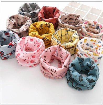 兒童純棉圍脖 保暖套頭帽圍脖圍巾   12種戴法保暖透氣面罩   圍脖 圍巾