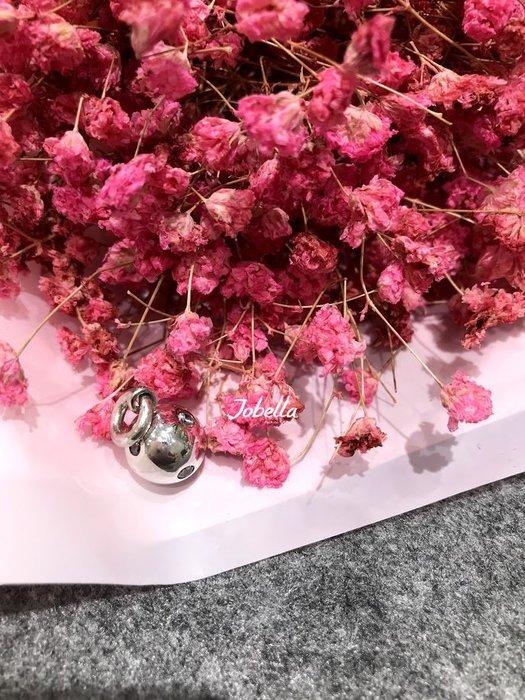 ✽JoBella 日本空運 日本代購 日貨✽ 925銀 3顆鑽圓型珠墜子  現貨