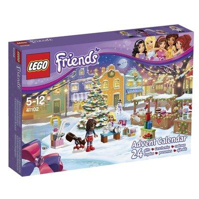 LEGO FRIENDS #41102 ADVENT CALENDAR  戳戳樂 耶誕降臨曆  樂高  玩具 聖誕降臨曆