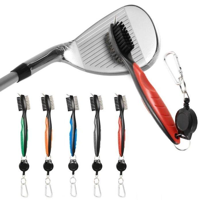 5C精選@高爾夫球杆 清潔刷 雙面刷 尖頭刷 三用刷