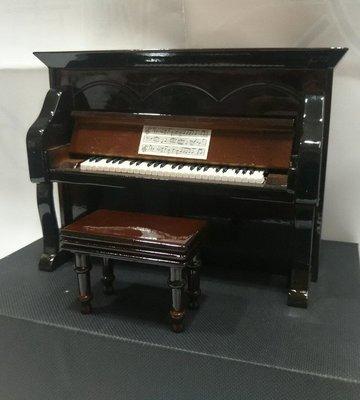╰☆美弦樂器☆╯深咖啡色直立鋼琴造型音...