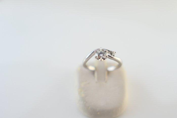 [吉宏精品交流中心]I-PRIMO 41分 GIA H/VS1 3EX 天然鑽石 PT950白金 戒指(盒卡全)