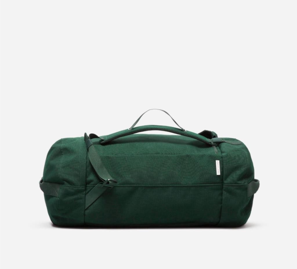 Everlane The Mover Pack dark green 旅行者多用途旅行袋 深綠色