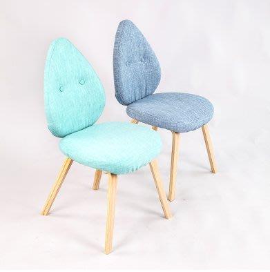『格倫雅』水滴型餐椅 設計藝術椅子 家用簡約椅 裝修必備餐椅^11634