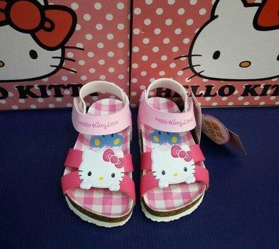 【滿千免運】 Hello Kitty 女童勃肯柏肯涼鞋