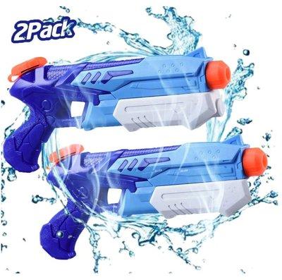 《FOS》日本 遠距離 水槍 玩具 8-11m 2入組 大容量 噴水槍 戲水 夏天 消暑 孩童最愛 禮物 熱銷 新款