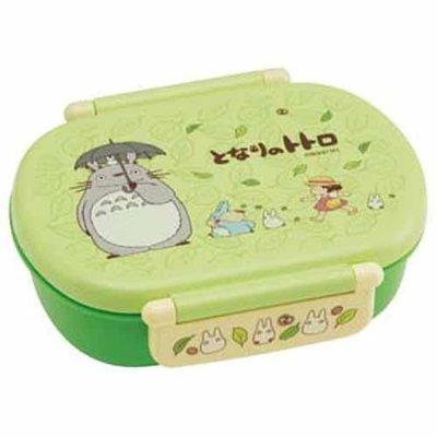 東京家族 日本進口 龍貓餐盒/便當盒 綠色