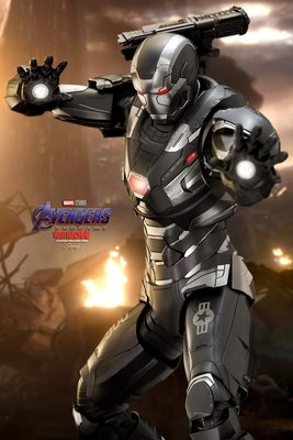《瘋樂模玩》全新現貨(附保卡)野獸國 Hot Toys MMS530D31 合金版 鋼鐵人 戰爭機器