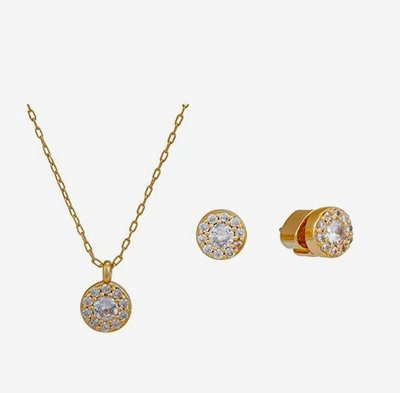 kate spade new york Something Sparkly Pave Studs & Pendant S