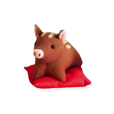 十二生肖布偶裝飾品 材料包 (日本製)-豬 ❤EZ樂活手作❤