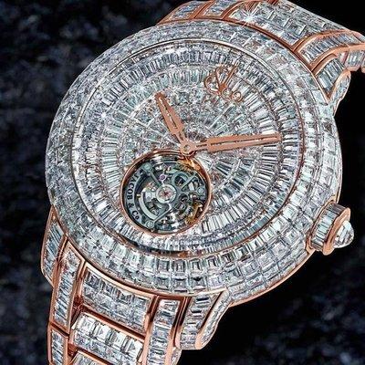 Jacob & Co. [NEW] Caviar Tourbillon Diamond Bracelet 47mm CV201.40.BD.BD.A40BA